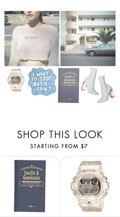 """""""I'm the Skeleton in Your Closet"""" by always-soulful ❤ liked on Polyvore featuring River Island, Sharpie and Baby-G"""