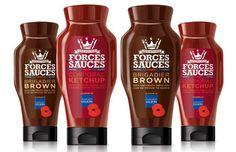+ Design de embalagem :   Projeto da Bluemarlin, para a linha de condimentos da Forces Sauces.