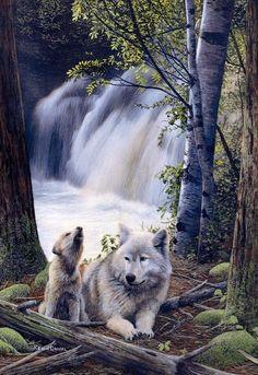 Mom & Pup...Kevin Daniel