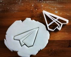 Origami Plane cookie cutter  biscuits cutters  paper by Made3D