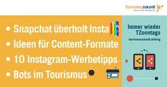 Immer wieder TZonntags, 24.4.2016: Chat trifft Bot, Snapchat-Erfolg, Tipps für Instagram Ads, Contentformate für Social Media und Blog Influencer Marketing, Microsoft, Snapchat, Boarding Pass, Blog, Google, Instagram, Content, Trends