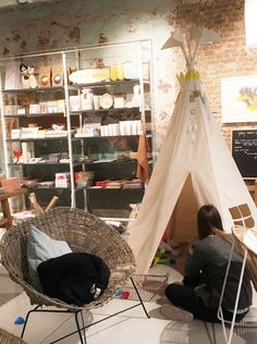 Kids Teepee tent by Moozle at Yay Concept Store in Antwerp