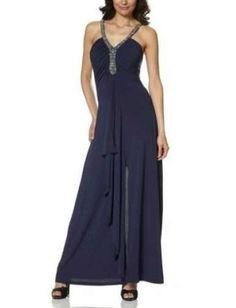 Damen Kleid Party Abend Kleid LAURA SCOTT Größe 38 blau SUPER DESIGN NEU! 522759 | eBay