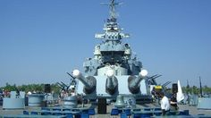 The Battleship North Carolina is a great historic landmark.