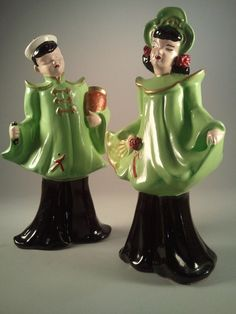 Vintage Chinese Ceramic Figurines.
