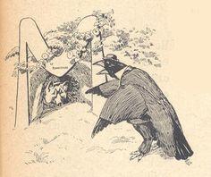 Le renard et le corbeau - Des contes et légendes