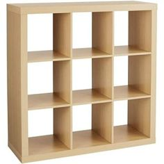 Amazon.com: Better Homes and Gardens 9-Cube Storage, Birch: Kitchen & Dining