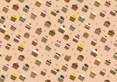 cupcake pattern by smallx2