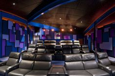 Uniquely Brilliant | CEDIA Home Theater Design Ideas Home Theater Setup, Home  Theater Seating,