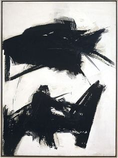 Franz Kline - Black Sienna, 1960.    Oil on canvas