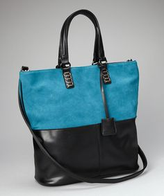 Take a look at this Peacock Blue Tote on zulily today!