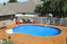 Buried Above Ground Pool Doughboy For The Home Above