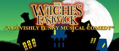 The Witches of Eastwick is a bewitching musical based on the Warner Brothers motion picture starring Jack Nicholson –Michelle Pfieffer and Cher.