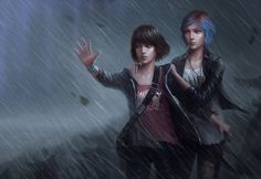 Life Is Strange Fanart!, Hristo Rusanov on ArtStation at https://www.artstation.com/artwork/life-is-strange-fanart-d71a4c09-34dc-4ee3-b552-9ce7bb7d27fa