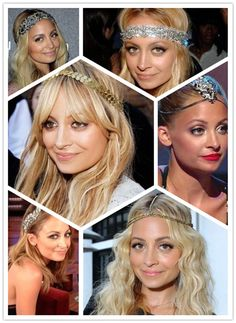 Nicole Richie Hairstyles: Hairstyles with Headband