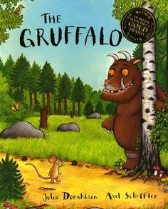 The Gruffalo, and The Gruffalo's Child by Julia Donaldson & Axl Scheffler.  A mouse took a walk through the deep, dark wood...