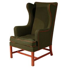 Kaare Klint Wingback Chair | From a unique collection of antique and modern wingback chairs at http://www.1stdibs.com/furniture/seating/wingback-chairs/