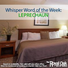 Mention our Whisper Word by March 5th for a FREE upgrade!