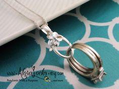1960 s plumeria wedding ring