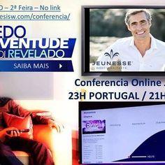 HOJE IMPERDIVEL!!! Bruno Teles Grilo Jeunesse Diamond Director  líder mundial de Network Marketing  um dos nossos mentores vai estar hoje na video conferência online às 21h de Brasília / 23h de Lisboa. Não percam!!! para estar presente basta entrar no link http://ift.tt/1U0a5Hl ( 21h de Brasília / 23h de Lisboa ) http://ift.tt/22l0IYR