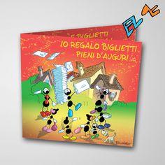 Biglietto musicale Auguri (FV07-03)   Le Formiche di Fabio Vettori #formiche #fabiovettori #biglietto #auguri #musica #music #fun #regalo #gift