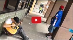 This Street Singer Didn't Expect 2 Strangers To Join In. But The Resulting Song Was Amazing.