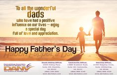 Happy Father's Day from the staff of Dermatology Associates of Northern Virginia, Inc. #dermatologiststerling#dermatologistsouthriding #farthersday
