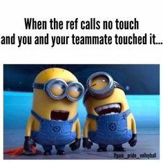 We hope that you all will like these funny minions quotes very much. You can use these funny minions love quotes to greet your best friends, bf or gf. Really Funny Memes, Stupid Funny Memes, Funny Laugh, Funny Relatable Memes, Hilarious, Volleyball Jokes, Soccer Jokes, Volleyball Players, Volleyball Drills