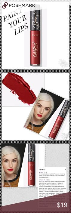 A BEAUTIFUL/HEALTHIER LIP PAINT/BUNDLE & SAVE 🚢 WE ACTUALLY DO INJEST R LIP STICK! I LOVE THIS BRAND BECAUSE I CAN UNDERSTAND THE INGREDIENTS! For me it's not only beautiful but lasts longer.  I wore this color to Poshfest and received loads of Compliments, so I am sharing with you Makeup Lipstick