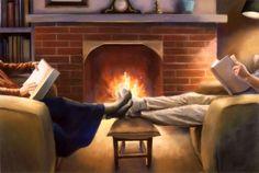 Reading together....