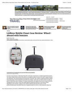 The Denver Post Travel LAMove Mobile Closet Gear