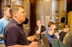 Owner & Winemaker Bernie Gorski talking to the group on July 2014 (photo credit: WindsorEats) Wine Tasting, Photo Credit, Tours, Group