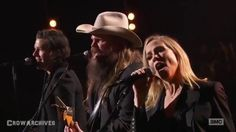 "Chris Stapleton, Sheryl Crow, Brandon Flowers - ""Don't Let Me Down"" (LIV..."