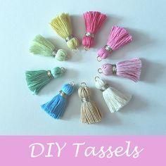 DIY Tassel - Tutorial ❥ 4U // hf