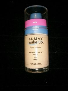 Almay Wake-Up Liquid Makeup Broad Spectrum SPF 20 Foundation in ivory #010 #Almay