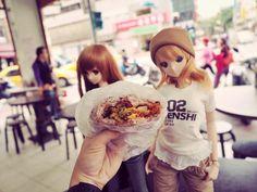 Mirai Suenaga and Kizuna Yumeno Smart Doll by kodomut