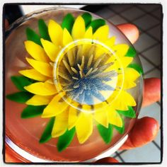 Floral gelatin