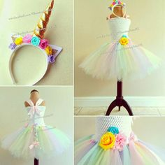 Hey, I found this really awesome Etsy listing at https://www.etsy.com/listing/583166691/unicorn-tutu-dress-with-tail-and-unicorn