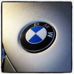 "Early morning mist on the BMW ""Roundel""."