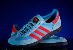 ADIDAS MANCHESTER FROM THE SIZE? OG REISSUE IN 2010 ARE THE MOST SOUGHT AFTER OF THE RANGE WITH PRICES HITTING £300+ FOR A PAIR NIB.