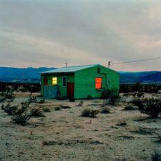 Isolated Houses, N34°11.115' W116°08.399,' 1995, John Divola