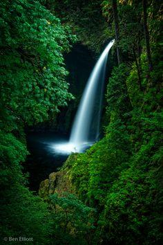 Metlako Falls - Eagle Creek , Oregon