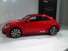 New 2012 VW Beetle! I want it SO bad. I am not a fan of bettles but the new ones are cute