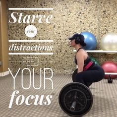 Starve your Distractions! Feed your Focus     No alimentes tus distracciones. Alimenta tu enfoque. - . . http://ift.tt/1T4hZ2a . fb twitter snapchat pinterest @MaryMirandaFit . http://ift.tt/2aZEWUB