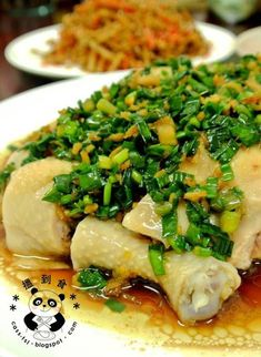 Discover How to cook Chinese Poultry Chinese Chicken Dishes, Asian Chicken, Chinese Food, Chinese Style, Asian Recipes, Healthy Recipes, Healthy Soup, Steamed Chicken, Steamed Food
