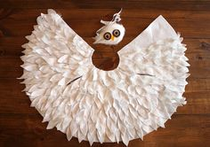 crozette: Hedwig Baby Owl No-Sew DIY Costume