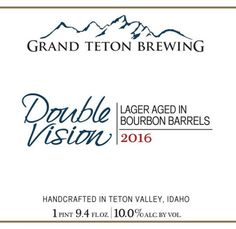 Grand Teton BBA Double Vision Doppelbock 2016 now online through The Rare Beer Club Beer Of The Month, Beer Online, Beer Club, Buy Beer, Double Vision, Bourbon Barrel, Tasting Room, Brewing Company, Craft Beer