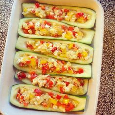 Cheesy courgettes