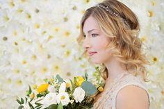 Gwen by Happily Ever Headwear Headpiece Wedding, Bridal Headpieces, Silver Headband, Beads And Wire, Hair Band, Crystal Rhinestone, Veil, Fancy, Pearls