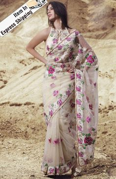 Are you looking for trendy blouse designs for net sarees? Check out this article with top 10 latest blouse designs for net sarees. Lehenga Style Saree, Net Saree, Pakistani Outfits, Indian Outfits, Indian Clothes, Beautiful Saree, Beautiful Outfits, Boho Outfits, Fashion Outfits